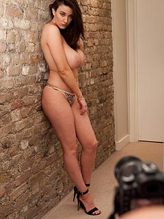 Most gorgeous women cute brunette naked