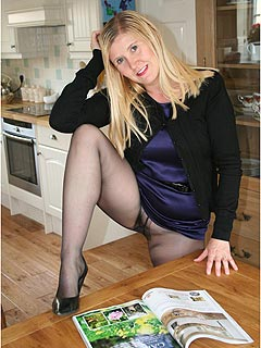 Some women are just going crazy when wearing pantyhose with no panties underneath