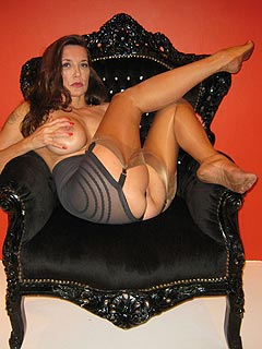 Mistress Jane is tirning herself into cruel military bitch getting ready for some kinky femdom