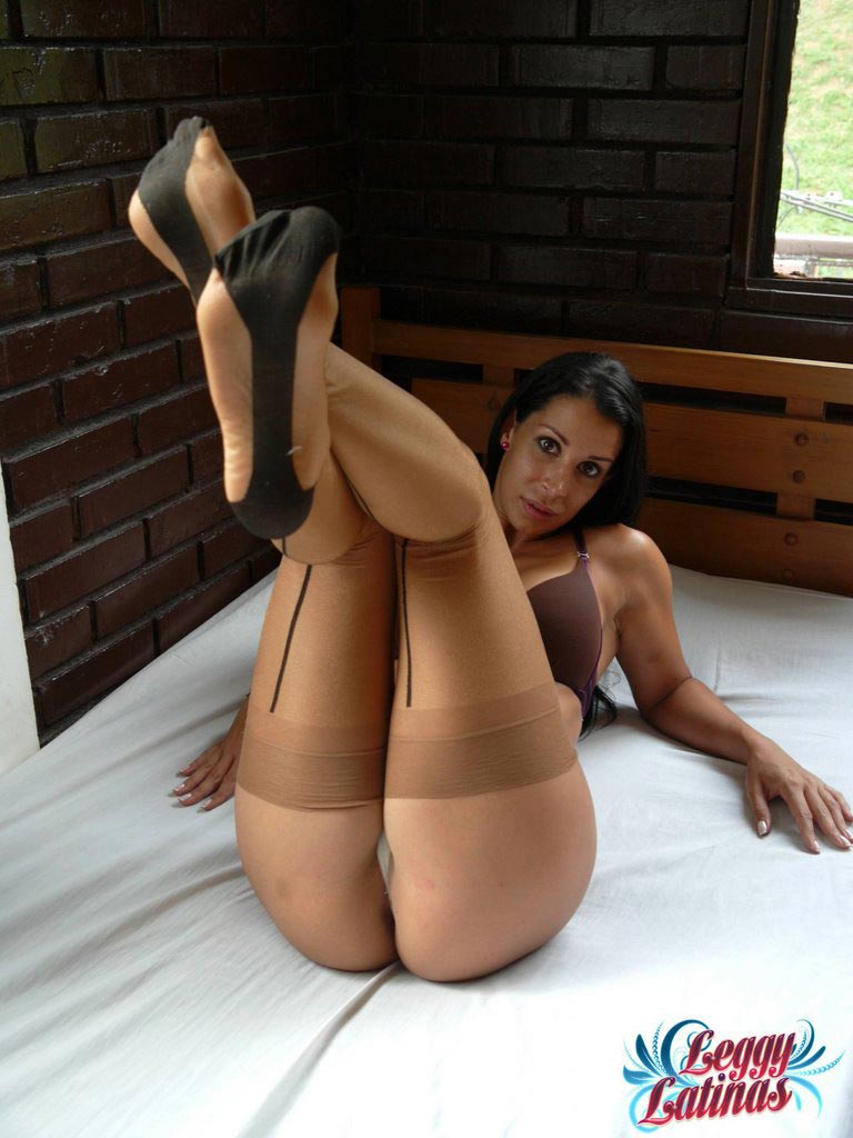 Leg spread wide open (spreading ass and pussy)