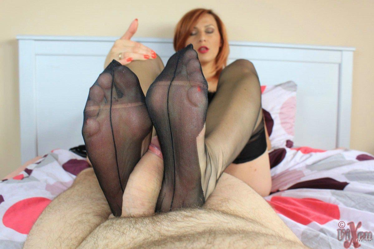 Sexy women in black stockings british housewife pussy